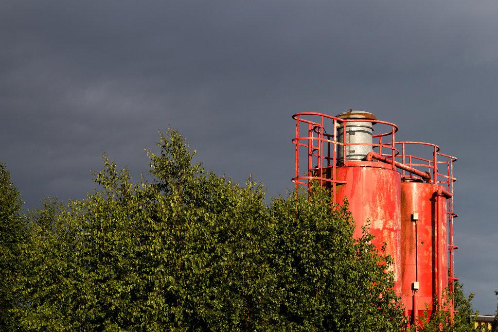Abstellbahnhof Lehe: Tanks
