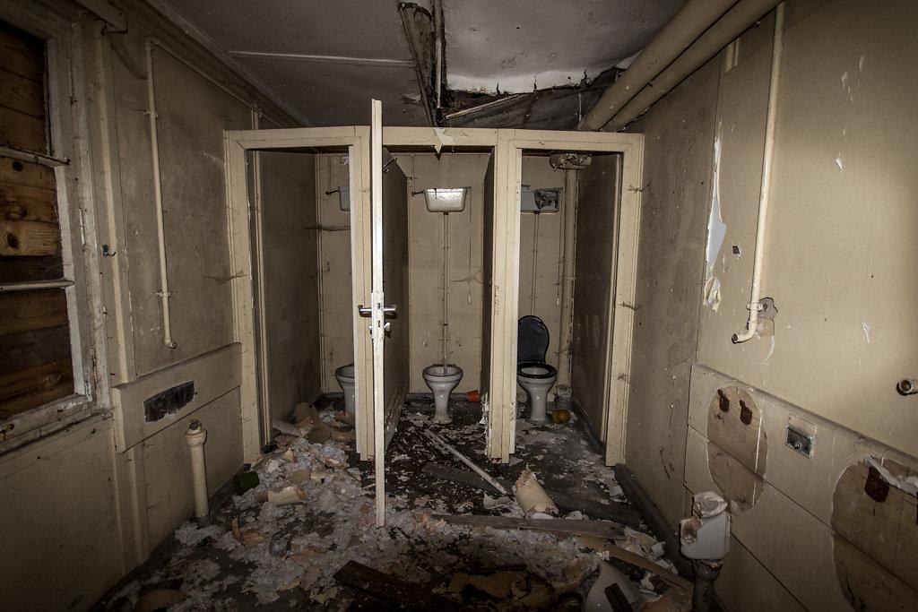 Ventilraum und WC